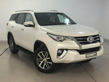 2015 Toyota Fortuner GUN156R Crusade White 6 Speed Automatic Wagon Chatswood Willoughby Area Preview