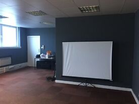 Offices available in Hillington. No service charges and low rent. Many sizes available