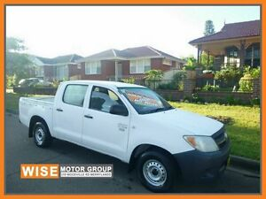 2006 Toyota Hilux TGN16R MY05 Workmate White 5 Speed Manual Utility Granville Parramatta Area Preview