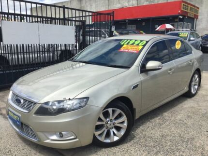 2008 Ford Falcon FG G6E AUTOMATIC MANY EXTRAS Gold 6 Speed Automatic Sedan Underwood Logan Area Preview