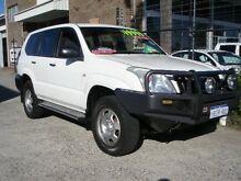 2005 Toyota Landcruiser Prado KZJ120R GX (4x4) White 5 Speed Manual Wagon Wangara Wanneroo Area Preview