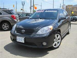 2007 Toyota Matrix XR | 5 SPEED | LOADED | ALLOYS |