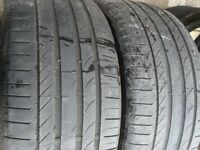 245 55 17 Michelin, Primacy ,102W, x2 A Pair 5.2mm (168 High Road, RM6 6LU)