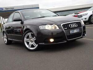 2007 Audi A4 B7 S Line Tiptronic Quattro Grey 6 Speed Sports Automatic Sedan