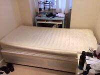 Single bed and mattress in great condition