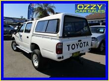 1999 Toyota Hilux LN167R (4x4) White 5 Speed Manual 4x4 Dual Cab Pick-up Penrith Penrith Area Preview