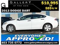 2013 Dodge Dart SE $89 BI-WEEKLY APPLY TODAY DRIVE TODAY
