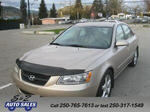 2006 Hyundai Sonata 1 OWNER! LEATHER-SUNROOF-LIKE NEW!