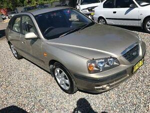 2005 Hyundai Elantra FX Beige Automatic Hatchback Jewells Lake Macquarie Area Preview