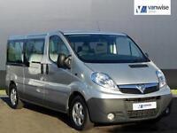 2014 Vauxhall Vivaro COMBI CDTI Diesel silver Manual
