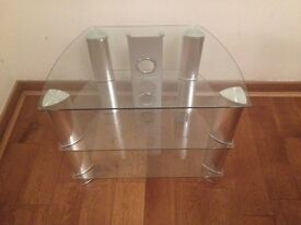 John Lewis Glass TV stand