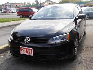 2011 Volkswagen Jetta 2.0L Auto No accident Black only 114,000Km