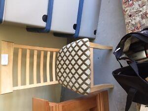 Chair and magazine rack