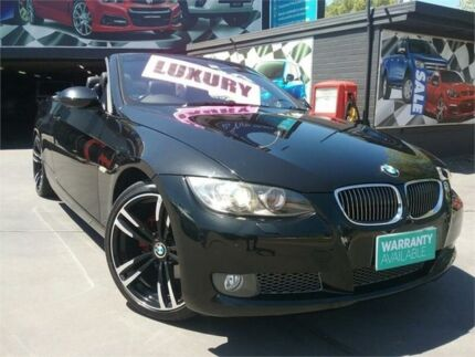 2008 BMW 325I E93 MY08 Steptronic Black 6 Speed Sports Automatic Convertible
