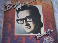 Vinyl LP Buddy Holly Rave On