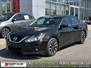 2018 Nissan Altima 2.5 SV | Moonroof, Htd Seats and Steering, Re