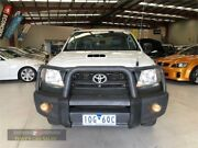 2011 Toyota Hilux KUN26R MY10 SR White Manual Cab Chassis Laverton North Wyndham Area Preview