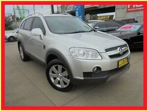 2009 Holden Captiva CG MY09 LX Silver 5 Speed Automatic Wagon Holroyd Parramatta Area Preview