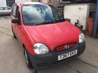 Hyundai Atoz 1 litre, starts and drives well, MOT until 22nd May, ideal first car, cheap insurance,