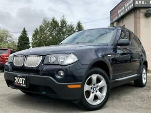 2007 BMW X3 3.0si AWD *No Accidents* Certified!