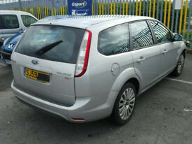Focus 4 2010 Estate Drivers Rear Door in Silver 2008 2009 2010 2011 2012