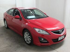 2012 Mazda 6 GH MY11 Touring Red 5 Speed Auto Activematic Hatchback Salisbury Plain Salisbury Area Preview