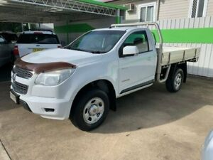 2012 Holden Colorado TRAYBACK 4x2 AUTOMATIC DIESEL White 6 Speed Automatic Trayback Casino Richmond Valley Preview