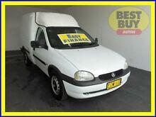 2001 Holden Combo SB White 5 Speed Manual Van Cabramatta Fairfield Area Preview