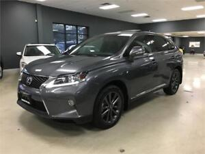2014 Lexus RX 350 F Sport*NAV*HEADS UP*BACK-UP CAM*BLIND SPOT*