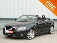 2011 AUDI A3 2.0 TDI S LINE CONVERTIBLE - S TRONIC CONVERTIBLE DIESEL