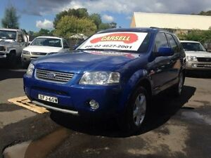 2008 Ford Territory SY MY07 Upgrade Ghia (RWD) Blue 4 Speed Auto Seq Sportshift Wagon Campbelltown Campbelltown Area Preview