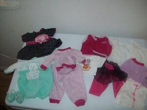 Vêtements pour poupée