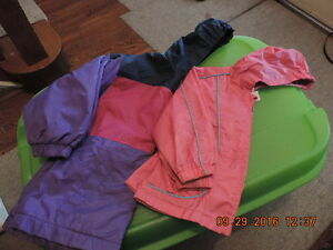 Girl's Size 4T, 5T, 6T Spring/Fall Jackets and Rain Coats
