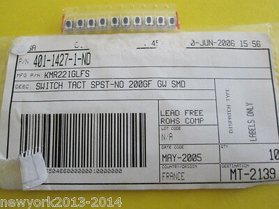 Switch Tact Spst-no 200gf Gw Smd 1 Item