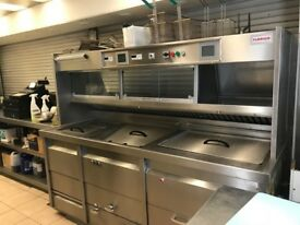 FLORIGO 2 PAN COMMERCIAL DEEP FAT FRYER (GAS) 2011