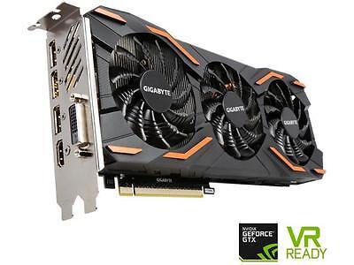 GIGABYTE GeForce GTX 1080 DirectX 12 GV-N1080WF3OC-8GD 8GB 256-Bit GDDR5X PCI Ex