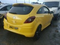 Vauxhall Corsa d breaking limited edition