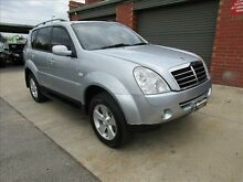2008 Ssangyong Rexton II Y200 MY08 RX270 XDI (7 Seat) Mink Silver 5 Speed Automatic Wagon Holden Hill Tea Tree Gully Area Preview