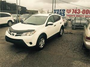 2013 Toyota RAV4 LE ,AWD,BACK UP CAMERA,BLUETOOTH,ONE OWNER