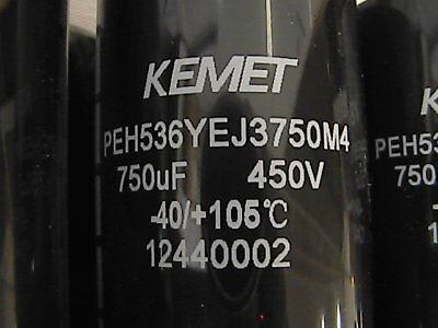 Peh536yej3750m4 Cp-01-4944-0 Capacitor Bank 12 Each 750 Uf 450 V