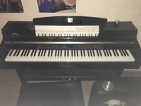 yamaha clavinova clp 230 with black stool- good condition with manual
