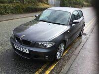 BMW 1 SERIES 2.0 120D M SPORT 3DR Manual (grey) 2007