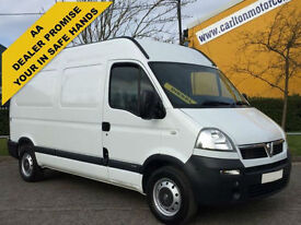 2009/ 58 Vauxhall Movano 3500 CDTI L2 [ Low Mileage Only 29k ] H2 Van