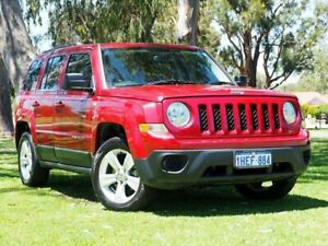 2012 Jeep Patriot MK MY2012 Sport CVT Auto Stick 4x2 Red 6 Speed Constant Variable Wagon Myaree Melville Area Preview