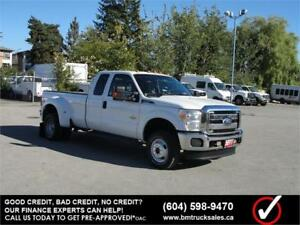 2011 FORD F-350 SUPER DUTY XLT EXT CAB 4X4 DUALLY *DIESEL*