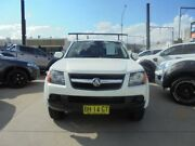 2010 Holden Colorado RC MY10.5 LX White 4 Speed Automatic 2D Cab Chassis Granville Parramatta Area Preview