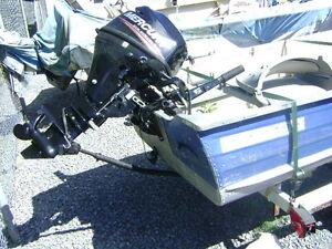 boat motor trailer