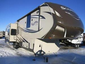 2014 38 FT GRAND DESIGN SOLITUDE 368RD 5TH WHEEL