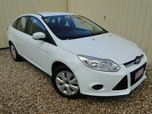 2012 Ford Focus LW Ambiente PwrShift White Semi Auto Sedan Parramatta Park Cairns City Preview