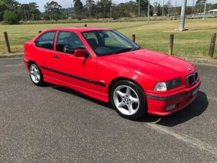 1997 BMW 318TI Red 4 Speed Automatic Hatchback West Gosford Gosford Area Preview